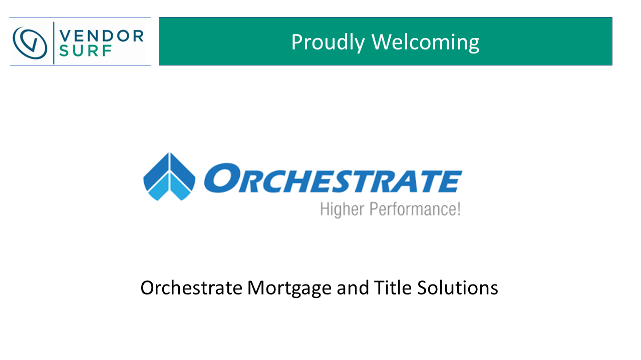 Orchestrate Welcome